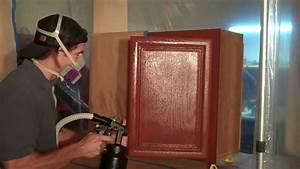 Refinishing Kitchen Cabinets - YouTube