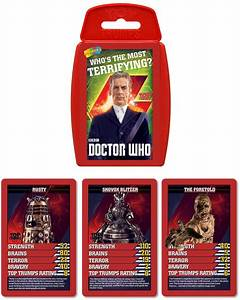 Doctor Who Top Trumps Pack 8 Now on Amazon – Merchandise ...