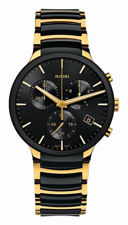 Rado Watches Centrix Army Gold Yellow Ceramic
