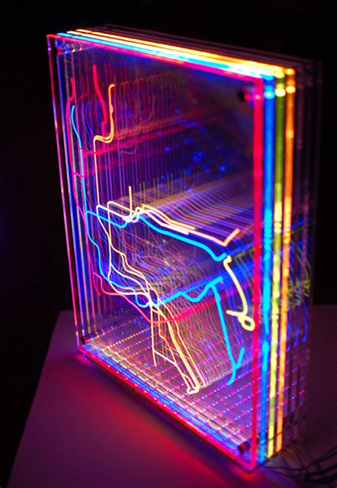 how to install acrylic lighting panels in transit nyc on behance