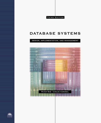 database systems design implementation and management database systems design implementation and management
