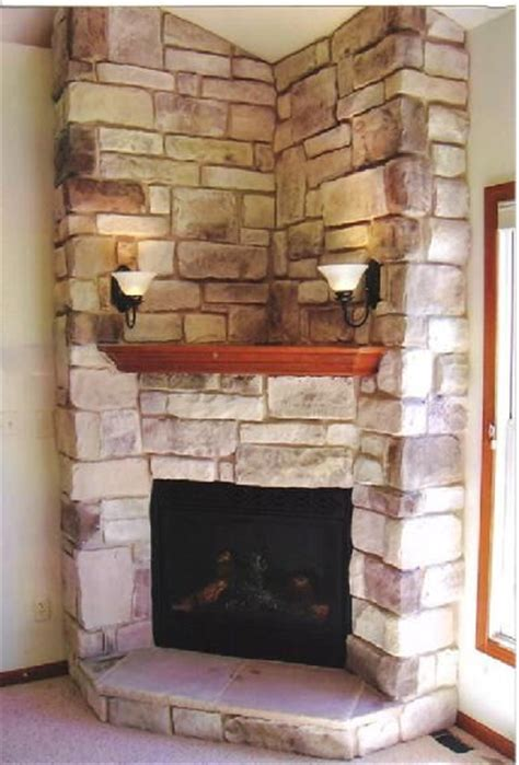wood mantle corner fireplaces and hearth on