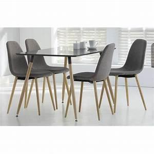 Table A Manger 4 Personne : table manger 4 personnes maison et styles ~ Teatrodelosmanantiales.com Idées de Décoration