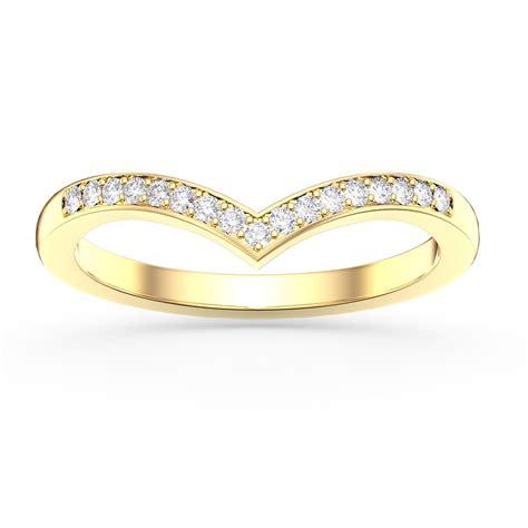 unity diamond wishbone 18ct yellow gold wedding ring jian london diamond rings