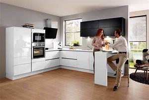 L Küche Mit E Geräten : wei e k che m bel brucker ~ Orissabook.com Haus und Dekorationen