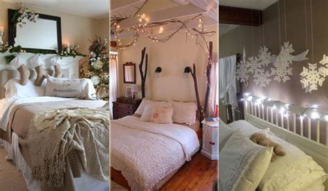 christmas decorating ideas   bedroom