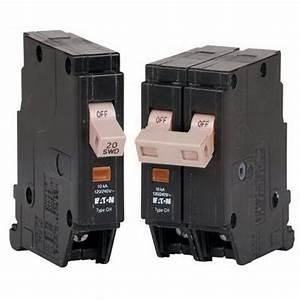 Eaton    Cutler Hammer Chf120gfpn Circuit Breaker  20 Amp