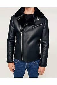 Veste Matelassée Homme Zara : veste en cuir zara ~ Dode.kayakingforconservation.com Idées de Décoration
