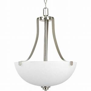 Progress lighting legend collection light brushed nickel