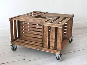 Pouf En Bois : 20 id es d co et r cup 39 avec des cagettes en bois des id es ~ Teatrodelosmanantiales.com Idées de Décoration