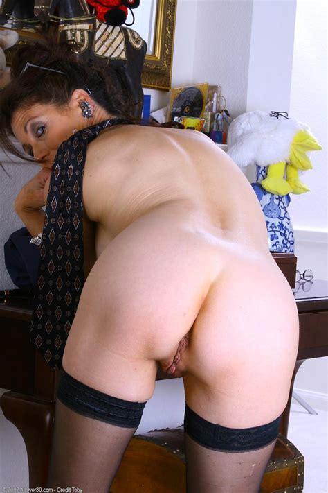 Mom Pinching Her Nipples