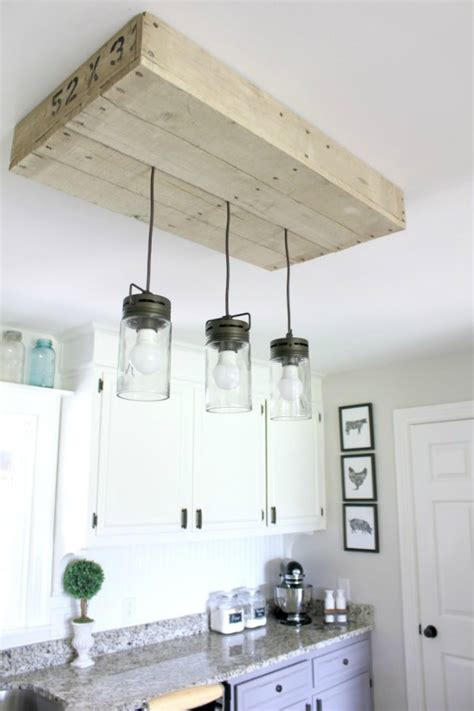 talk of the town 32 diy pallet light fixture more