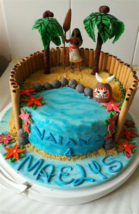 vaiana cake gateau anniversaire garcon gateau