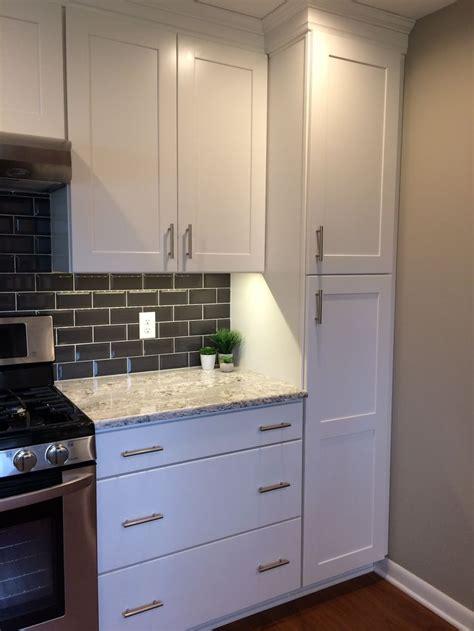 summerhill cambria quartz white cabinets  drawers