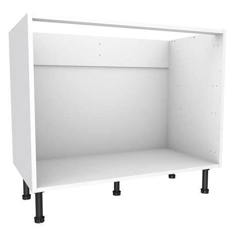 kitchen furniture white cooke lewis white multi drawer base cabinet w 1000mm