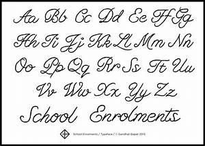 12 Script Fonts Alphabet Images - Cursive Tattoo Fonts ...