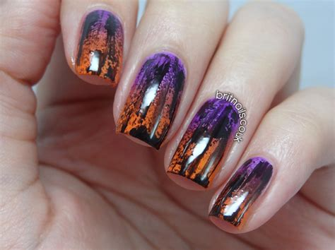Distressed Halloween Gradient