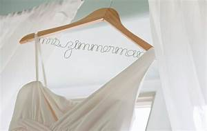 personalized wedding dress hanger with wire for brides bridal With personalized wedding dress hanger