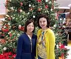 謝玲玲攜兒女與93歲婆婆過聖誕,39年婆媳感情勝似母女__新浪網-北美
