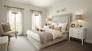 visualization for family house with cream color interior With interior design bedroom australia