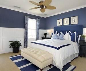 Maritimes schlafzimmer schlafzimmer in wei und blau for Schlafzimmer blau weiß
