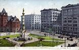 Lafayette Square, Buffalo, N.Y. postcard | The American ...