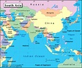 South Asia - The Shape of the Land