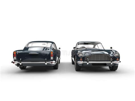 Dark Grey Classic Vintage Cars