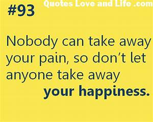 Past relationsh... Pain And Laughter Quotes