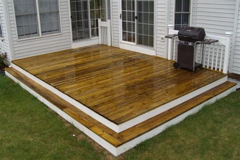 12x16 Floating Deck Plans by How To Repair Stairs Featured Deck How To Building A