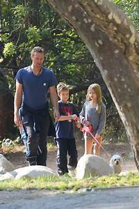 Chris Martin with his kids and Kate Hudson's son?|Lainey ...