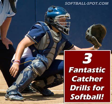 3 Fantastic Catcher Drills for Softball! - Softball Spot