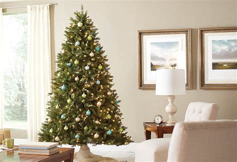 how to place and set up artificial christmas trees at the