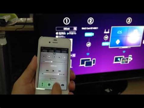 to connect smart tv to iphone how to connect iphone to samsung smart tv leawo tutorial