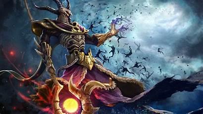 Hades Greek Fantasy Smite Painting Warrior Eyes