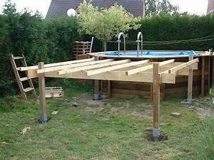 Support Terrasse Bois : piscines spas quelle structure support pour terrasse en ~ Premium-room.com Idées de Décoration