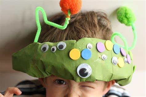 paper bag alien hat happy hooligans