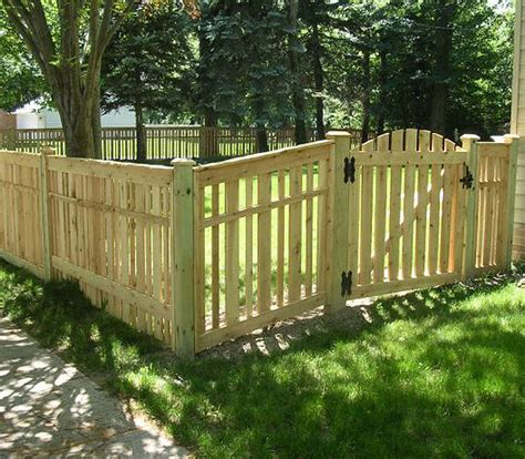 wooden fence gates styles wood fence designs for perfect house traba homes