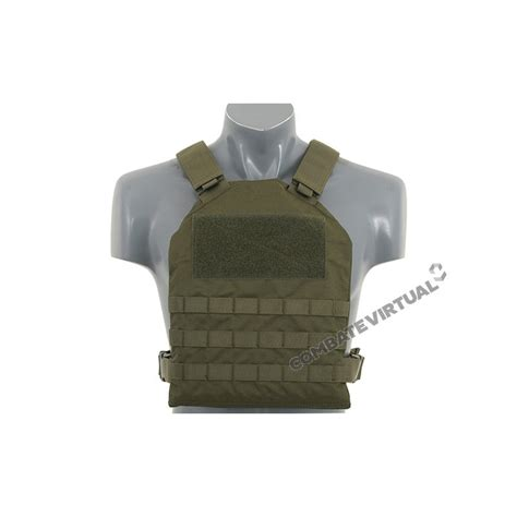 fields simple plate carrier  dummy soft armor inserts od combate virtual loja de airsoft