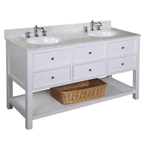 kitchen vanity with sink bathroom vanities lowes modern shop at with solid 6378