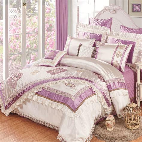 High Quality Silk Slippery 11pcs Bedding Bedspread Linens