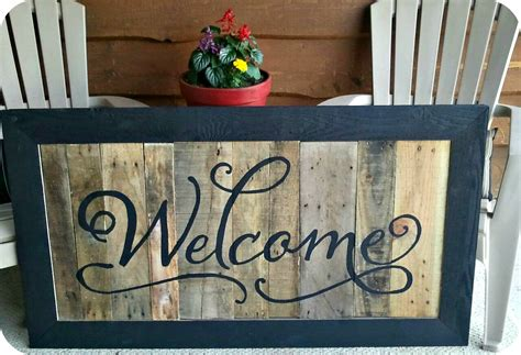 welcome signs for door three mango seeds welcome sign