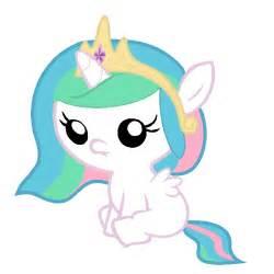 My Little Pony Princess Celestia as a Baby