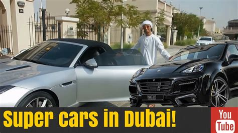 Driving Super Cars Arab Style