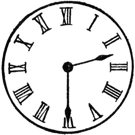 Clock 230  Clipart Etc