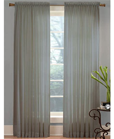 Macys Sheer Curtains Window Treatments by Miller Curtains Sheer Volie 59 Quot X 84 Quot Panel
