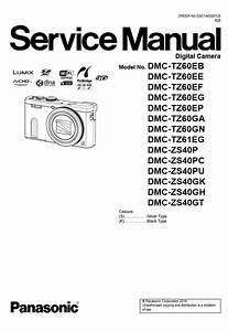 Panasonic Lumix Zs40 Manual Pdf