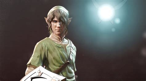 Art Halo Character Artist Gives Legend Of Zeldas Link A