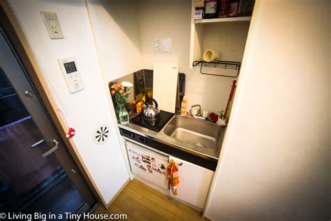 Chop House Kitchen by Life In A Crazy Small 8m2 Tokyo Apartment Living Big In