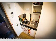 Life in a Crazy Small 8m2 Tokyo Apartment Living Big In